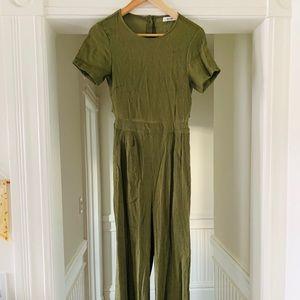 MOD REF olive green jumpsuit